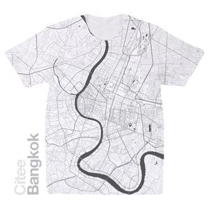 Image of Bangkok map t-shirt