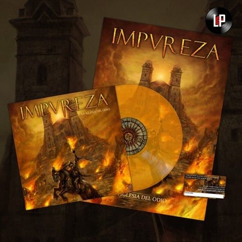 Image of La Iglesia Del Odio (LP) - Orange Edition 250 ex.