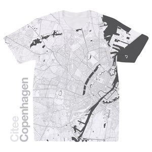 Image of Copenhagen map t-shirt