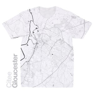 Image of Gloucester map t-shirt