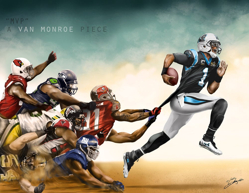 Image of MVP Poster