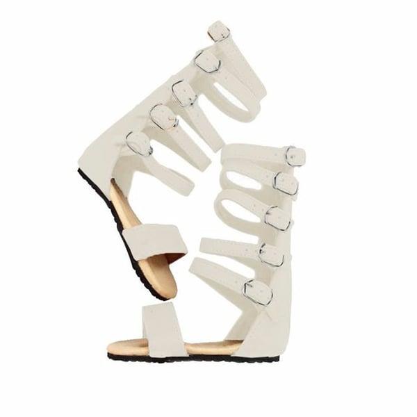 Image of Nahla sandal Cream
