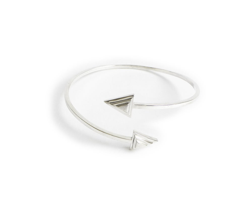 Image of Collection Miroir - Bracelet Triangles