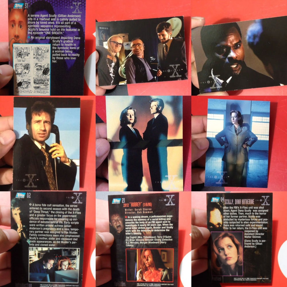 Image of X-FILES Season 2 Trading Cards Set from Topps (1996)