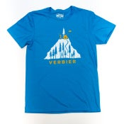 Image of Verbier T-Shirt - Chalet and Trees