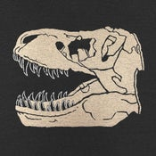 Image of Trex Fossil T-shirt | Unisex XS | Womens SM, LG, XL, XXL | Unisex VNeck XS