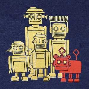 Image of Vintage Robots T-shirt | Womens SM-MD