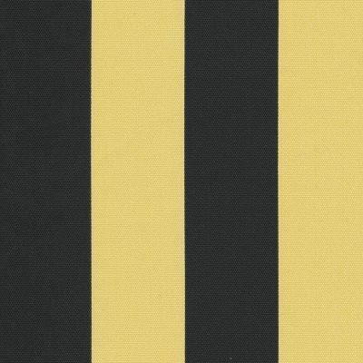 Fabric Freak — FF Black and Yellow Gold Stripe Outdoor Fabric