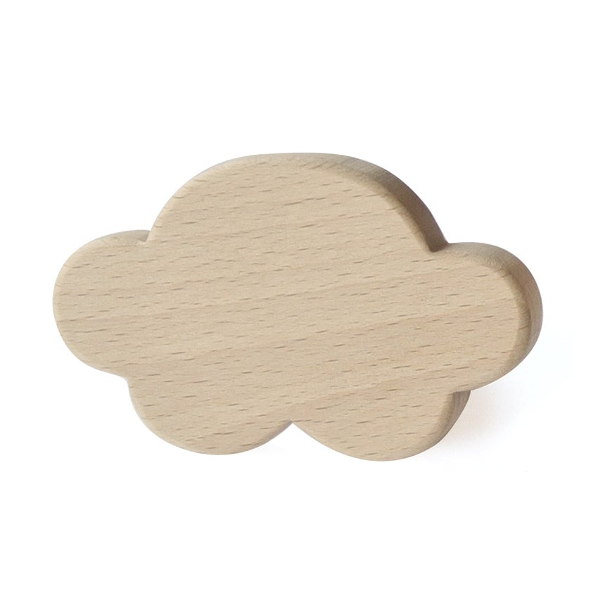 Image of Patère Nuage en bois de hêtre