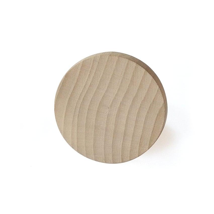 Image of Patère Rond en bois de hêtre