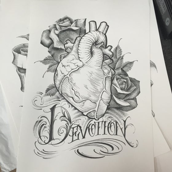 "Image of ""Devotion"" print"