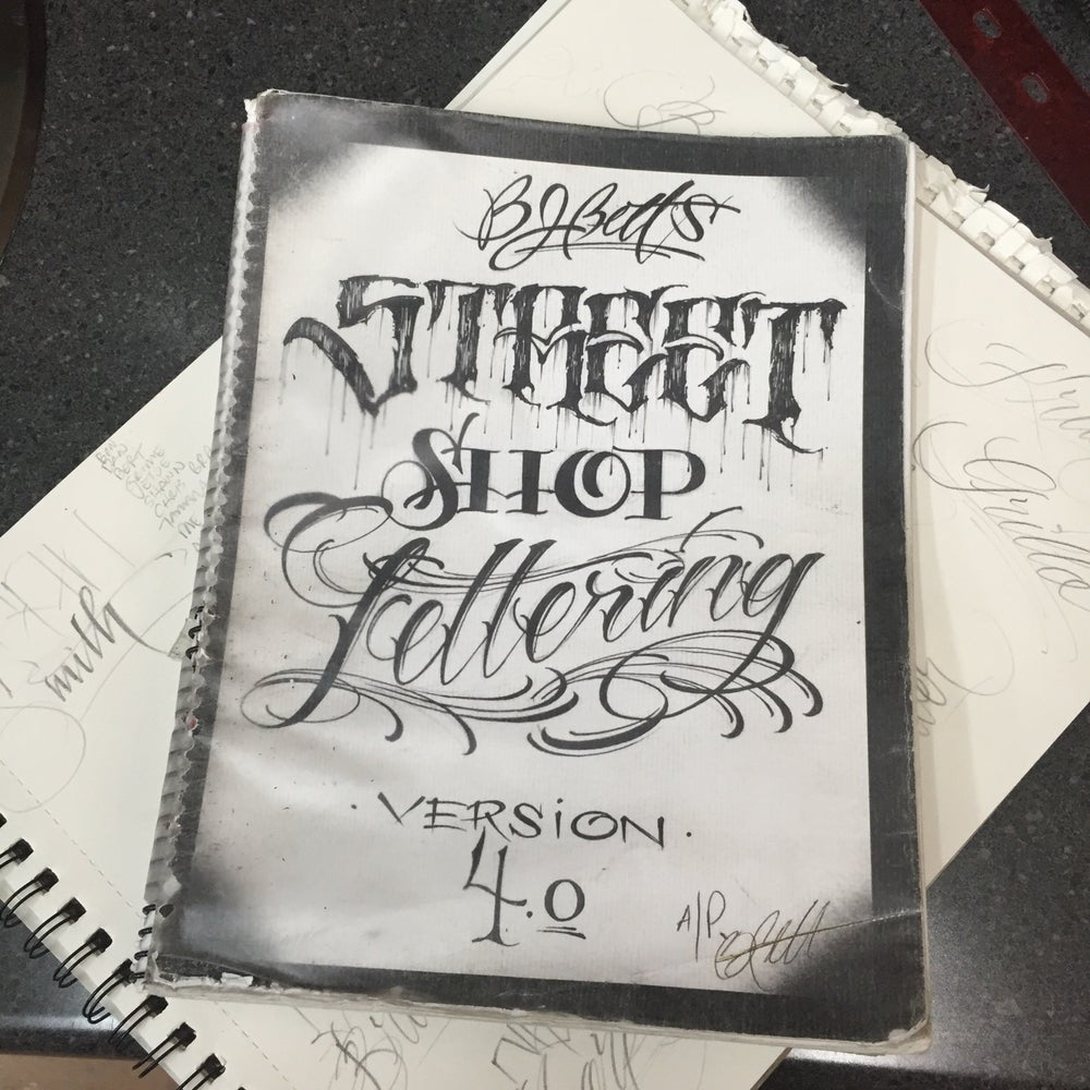 Image of Lettering Guide number 4 - Street Shop Lettering guide