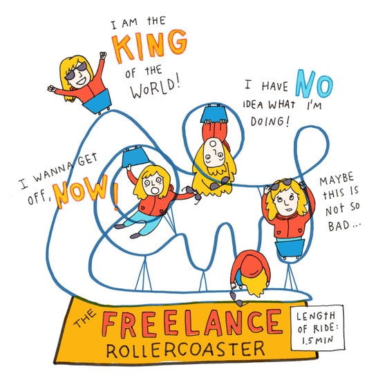 Image of Freelance print