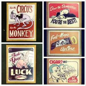 Image of Handmade Poster Signs (COLOR)