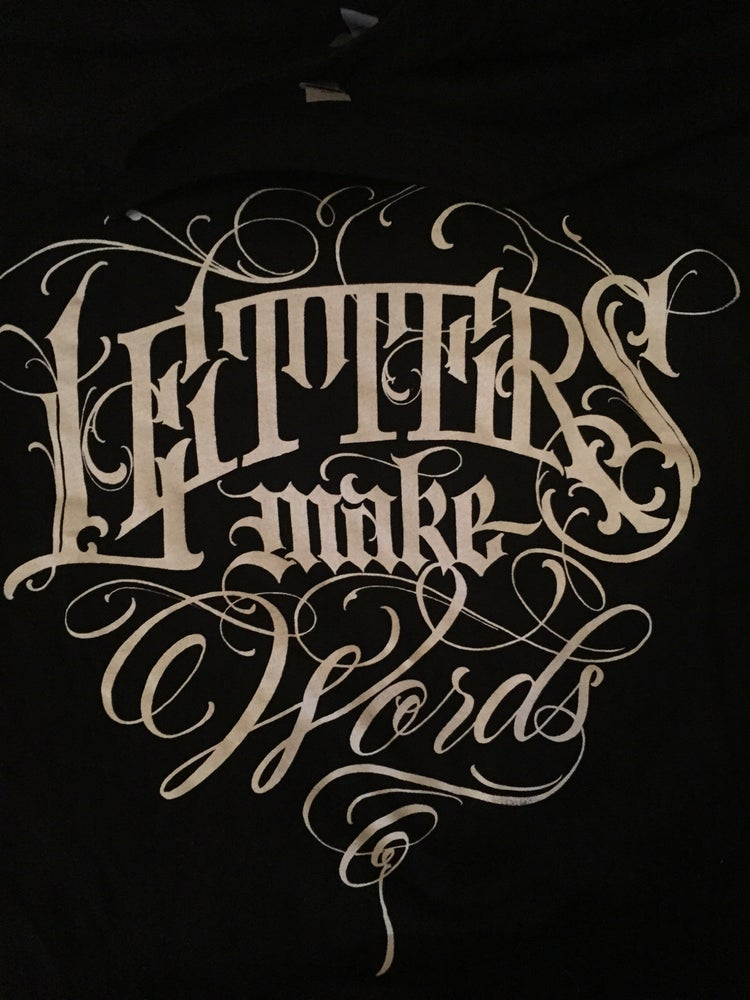 Image of Letters Make Words tee
