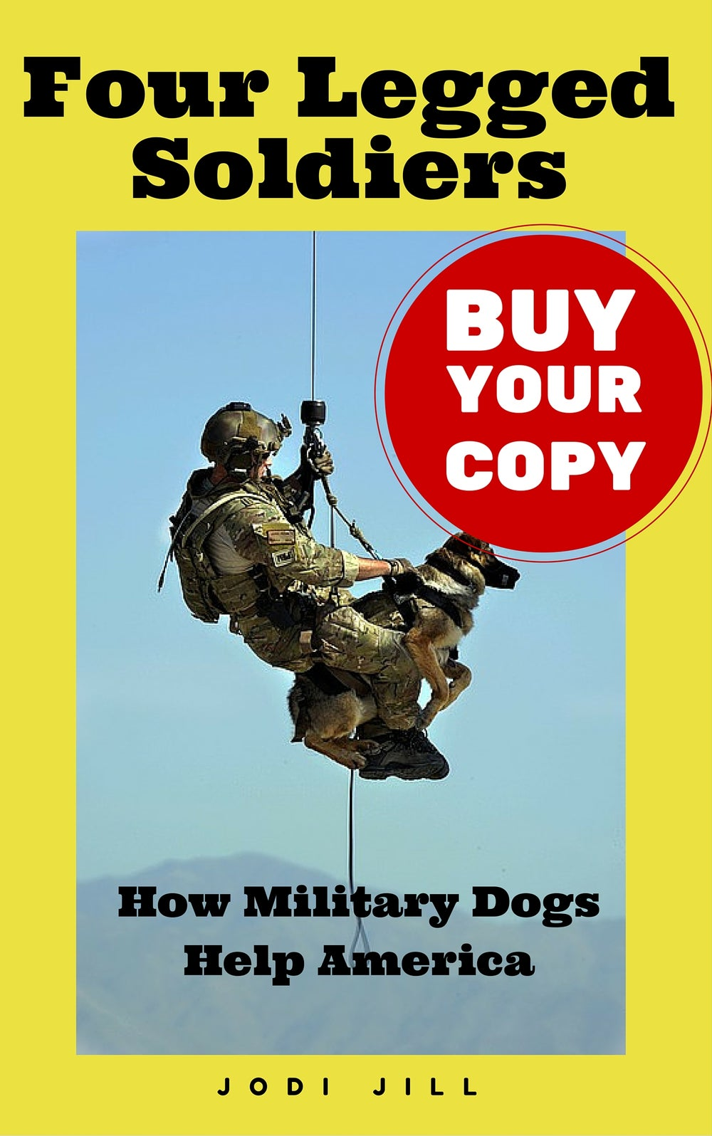 Image of BOOK - Four Legged Soldiers