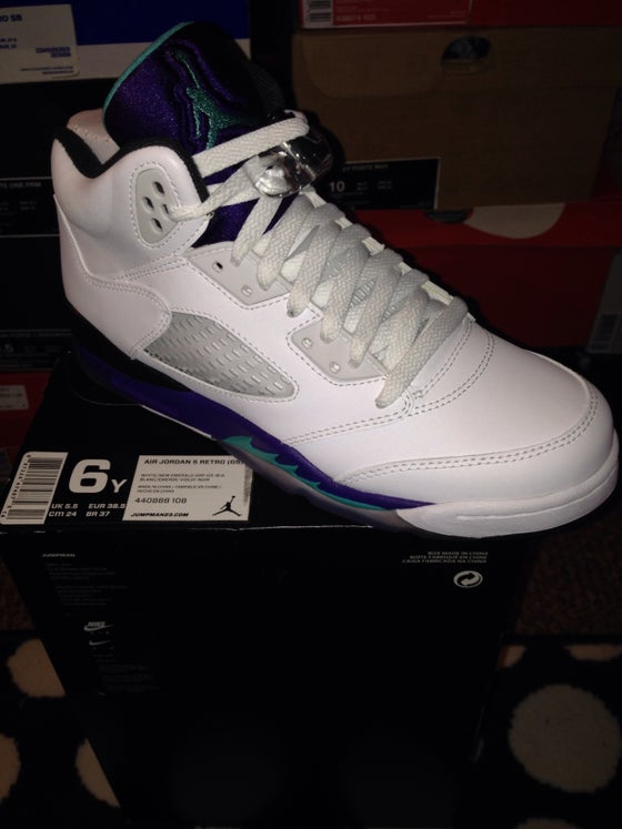 "Image of Air Jordan 5 Retro ""Grape"""