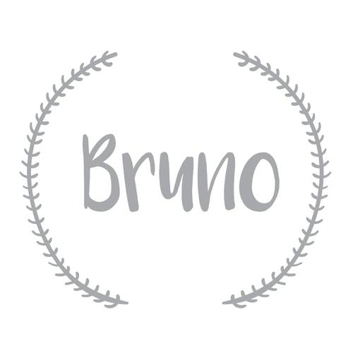 Image of Vinilo personalizable nombre gris