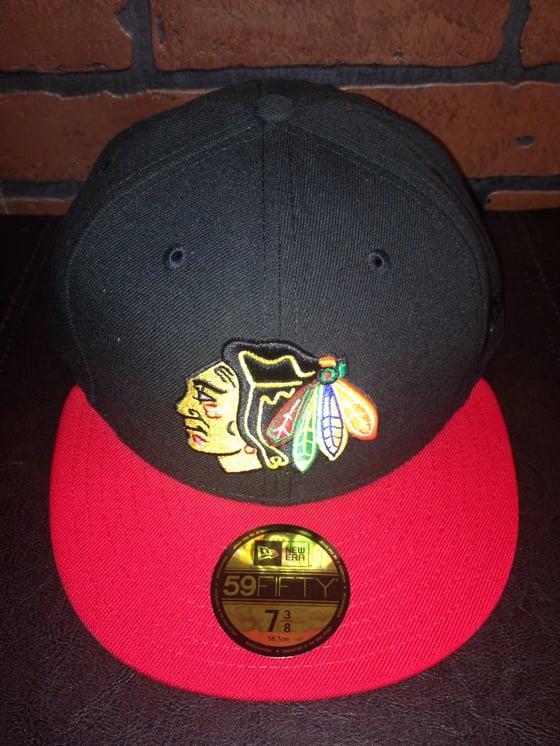 Image of New Era Chicago Blackhawks Fitted