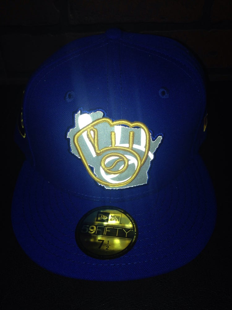 Image of New Era Milwaukee Brewers 3M Fitted