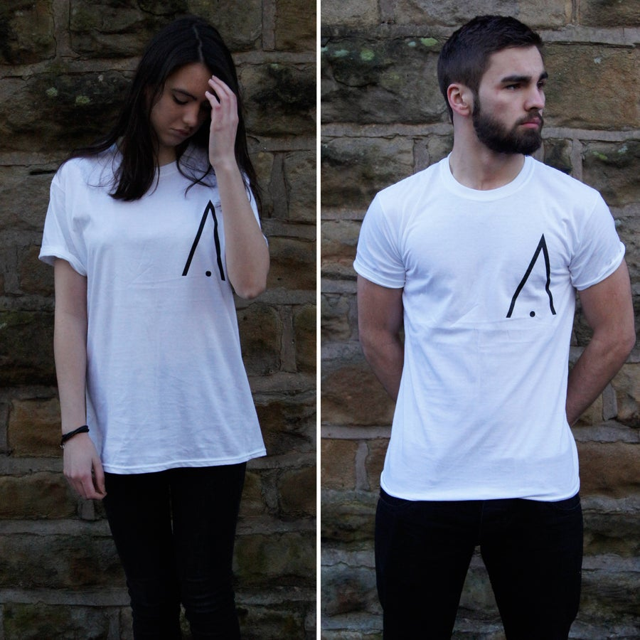 Image of Apex 'A' Print T-Shirt - White