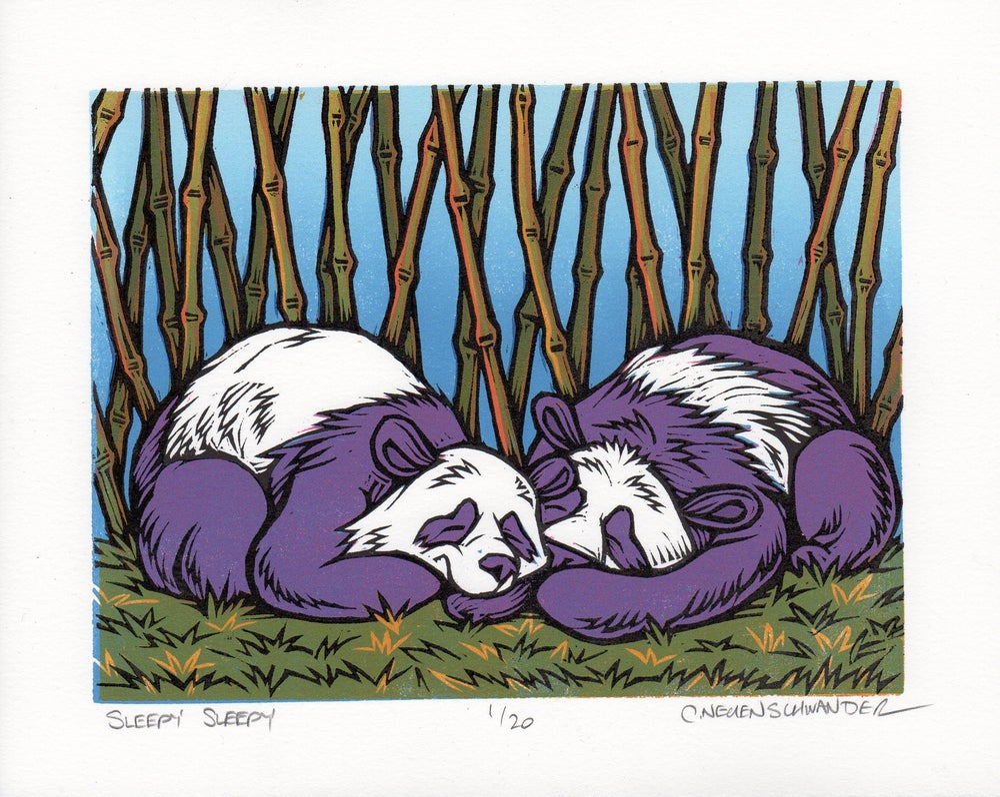 Sleepy Sleepy Print