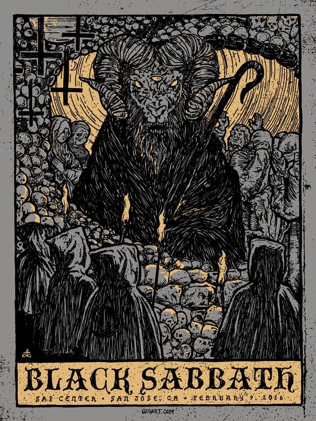 Image of Black Sabbath 2016
