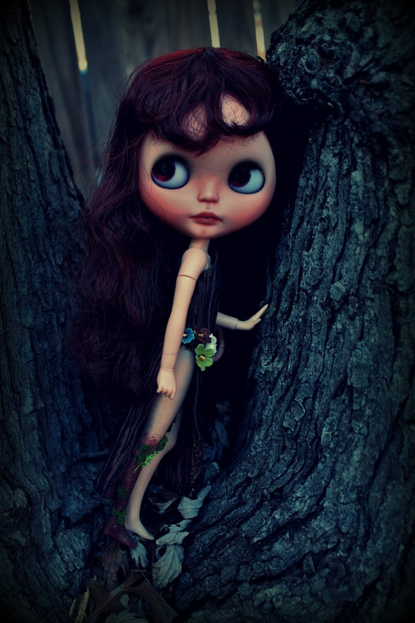 Image of OOAK Takara Custom Blythe Doll by Chantilly Lace: Date w/ Blythe Auction