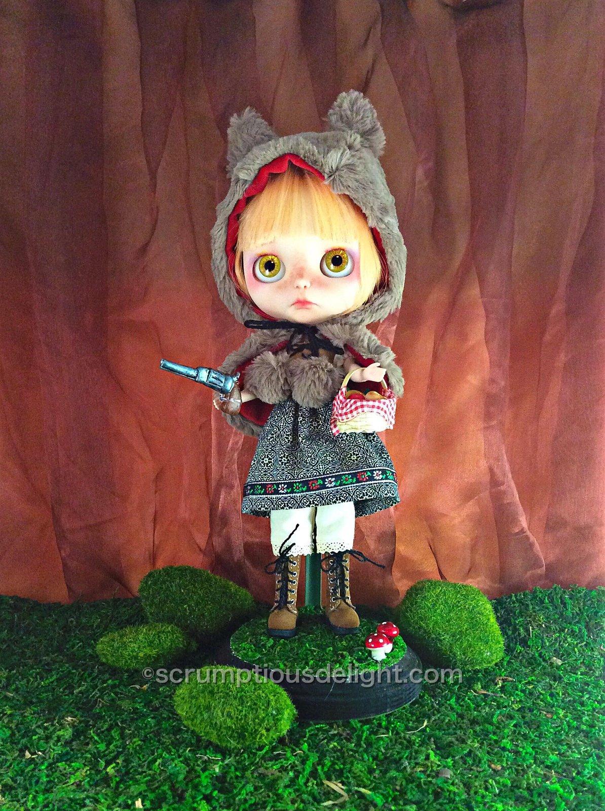 OOAK Takara Custom Blythe Doll by Scrumptious Delight: Date w/ Blythe Auction