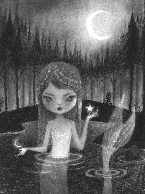 "Image of ""Woodland Siren"" by Irene Garcia"