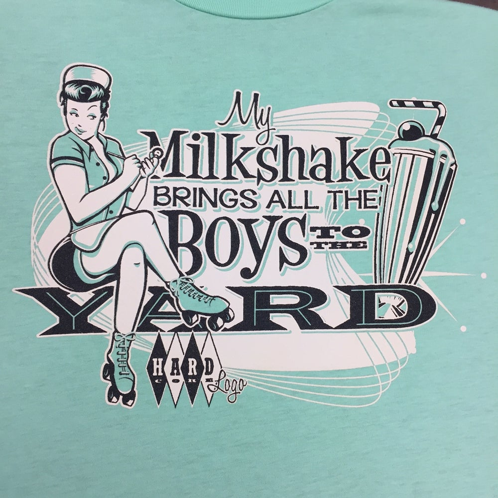 Image of Milkshake! Ladies T-Shirt Limited Edition Peppermint !