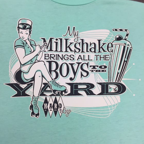 Image of Milkshake Ladies T-Shirt Limited Edition Peppermint !