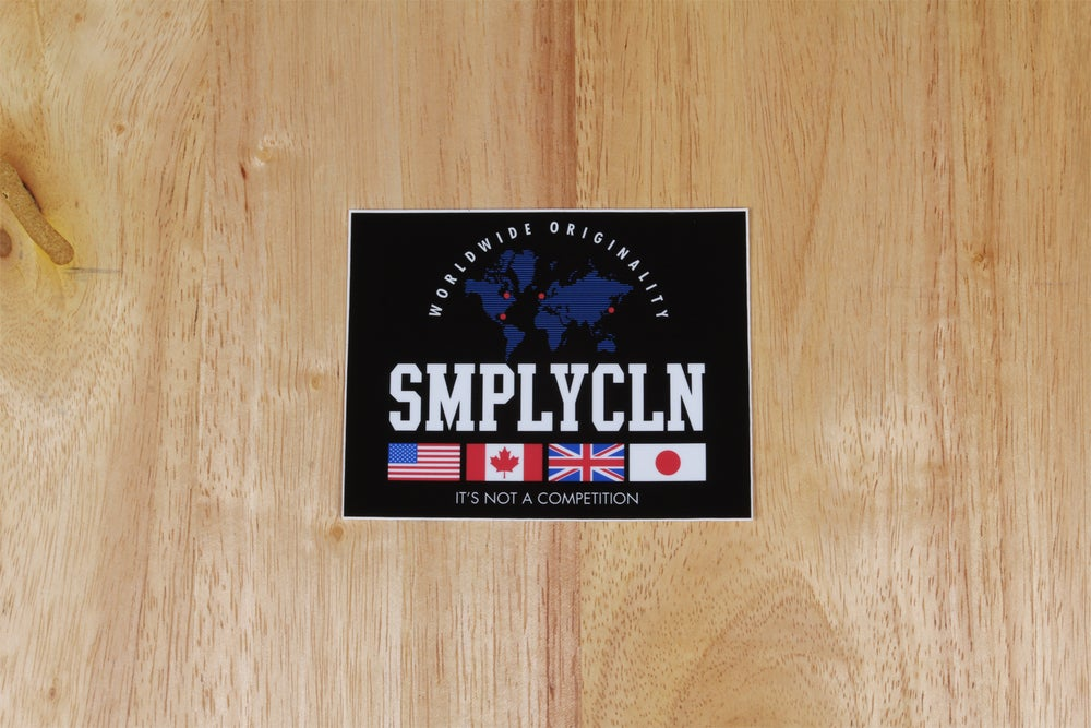 Image of Simply Clean Worldwide Sticker