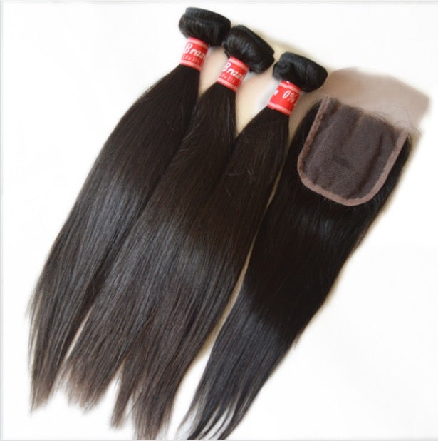 Image of Peruvian  3 bundle+ closure