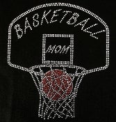 "Image of ""Sparkling"" Basketball Mom (3 Different Designs)"