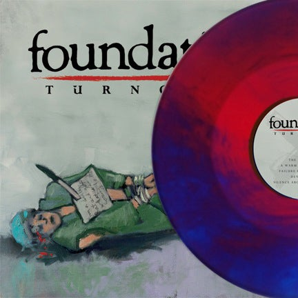 "Image of Foundation 'Turncoat' 12"" Red/Blue (100)"