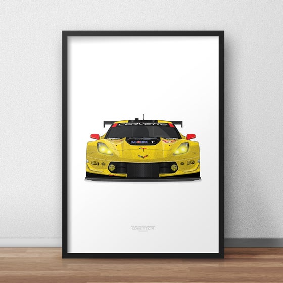Image of #4 Corvette C7.R. Rolex24 '16 (D1-025)