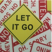 Image of Let It Go Mini-Sticker