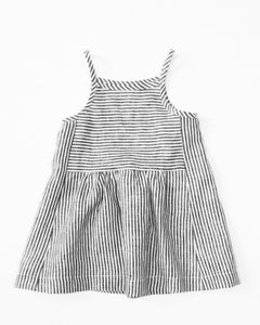 Image of park dress- ticker stripe