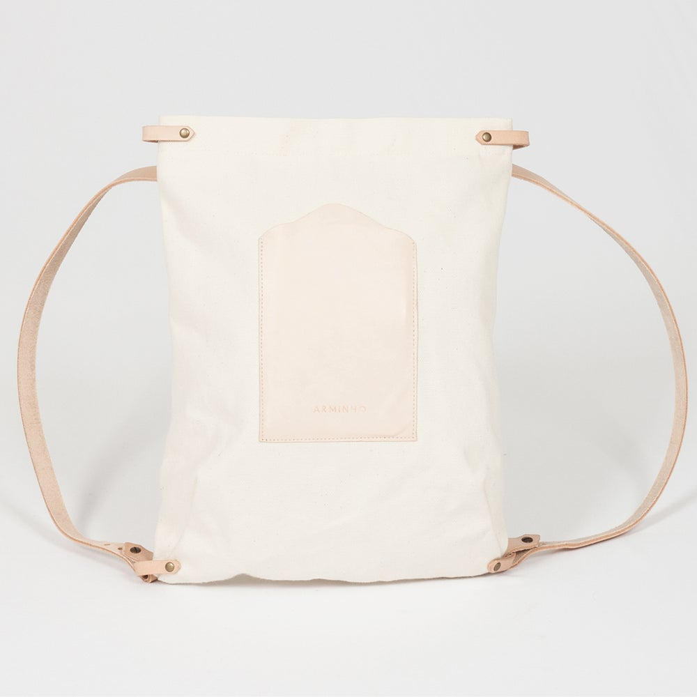 Image of Rectangular Backpack - canvas