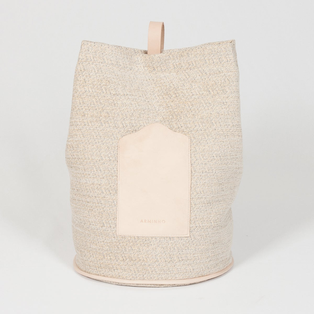 Image of Bucket Bag Beige - beige pattern