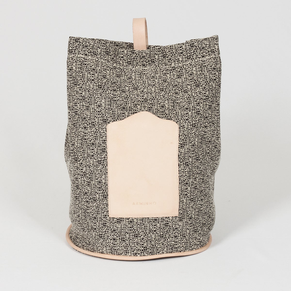 Image of Bucket Bag - black pattern