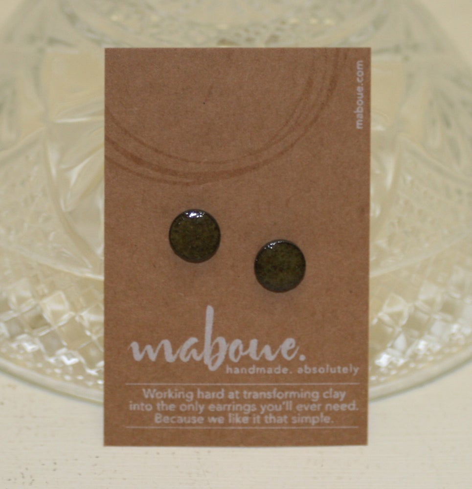 Image of Maboue~ more... Little Porcelain Studs