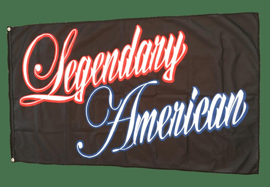 Image of Legendary American Script 3x5 Flag