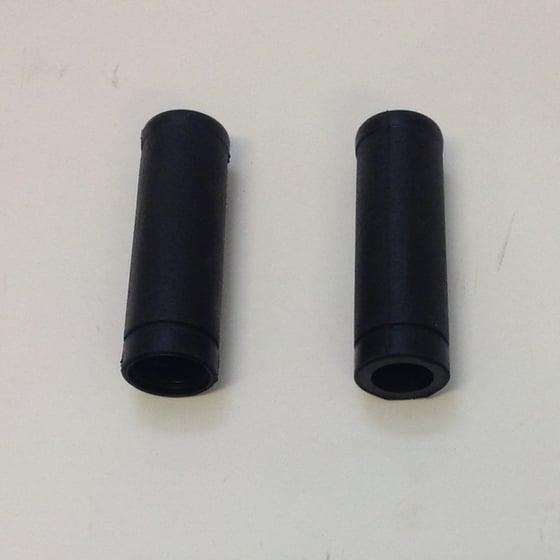 """Image of Handlebar Grips - Black (for 1"""" bars)"""