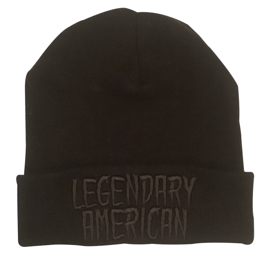 Image of Legendary American Black Gold beanie