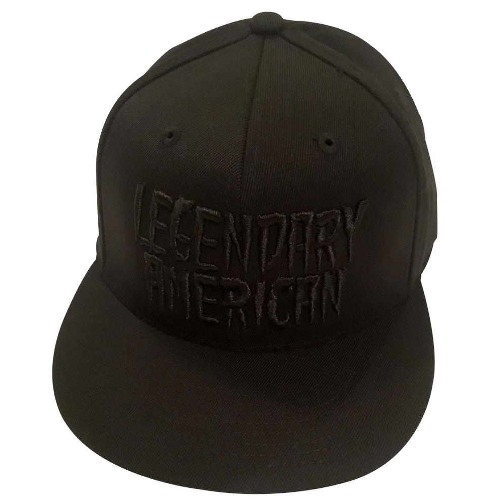 Image of Legendary American Black Gold Flexfit hat