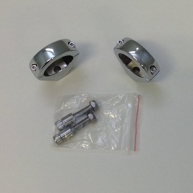 Image of Signal Relocation Brackets (Black or Chrome)