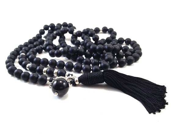 Image of Infinite Journey Black Onyx Mala