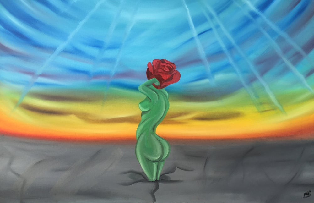 """Image of """"The Rose That Grew From Concrete"""""""